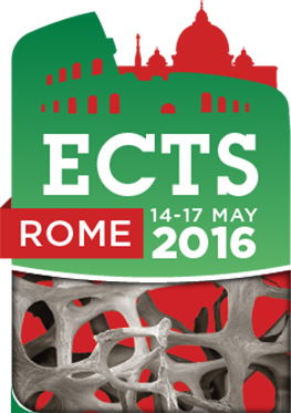 14-17 May - ECTS 2016 Congress - Rome, Italy