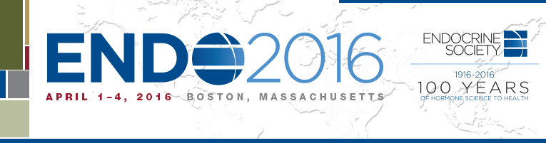 01-04 Apr 2016 - ENDO 2016 - Boston, MA, USA