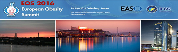 01-04 Jun 2016 - 23rd European Congress on Obesity - Gothenburg, Sweden